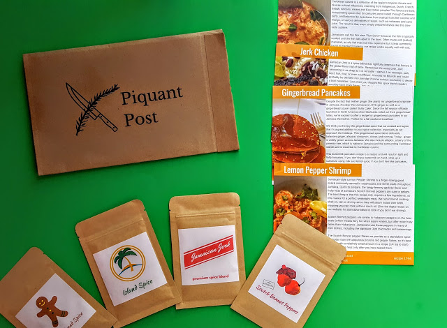 what's in the piquant post subscripiton