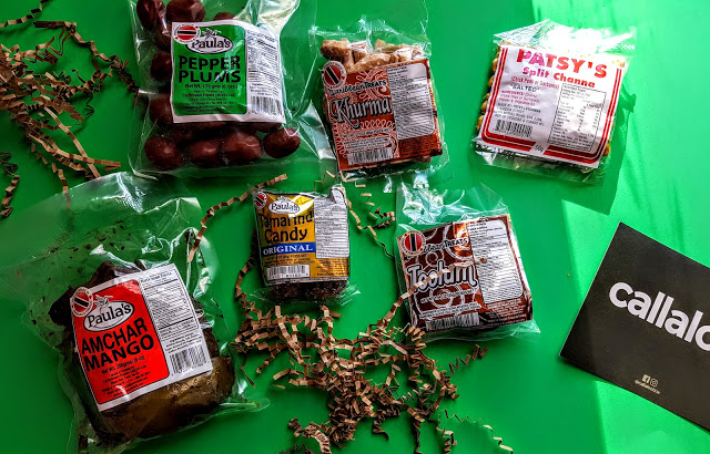 what's in the callaloo snack box