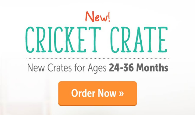 cricket crate from kiwico available now
