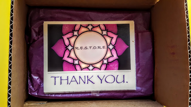 first look in the restore wellness welcome box