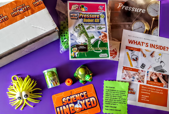 what's in the science unboxed subscription