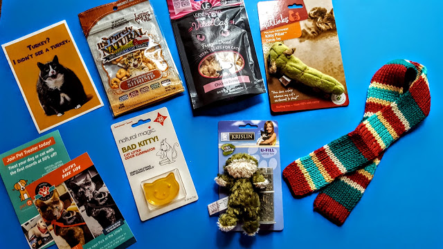 what's in the pet treater subscription
