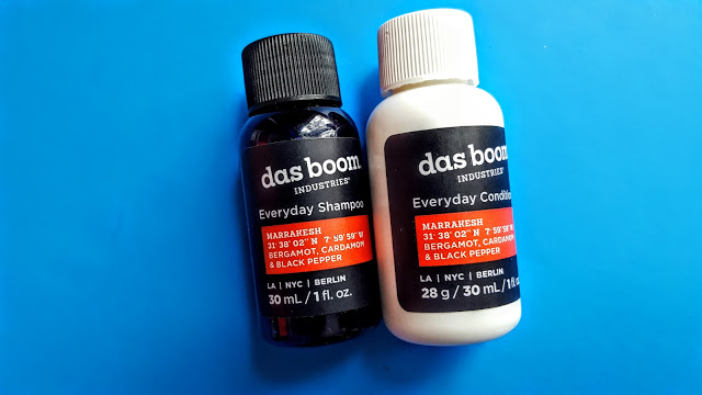 das boom shampoo and conditioner