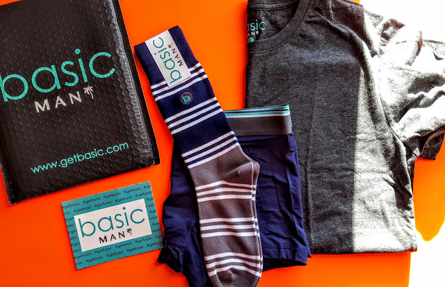 what's in the basic man subscription