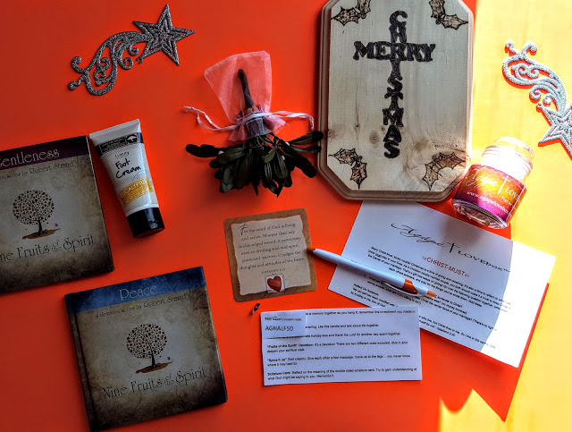 what's in the agape love box