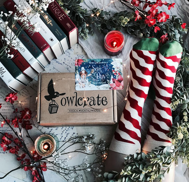 owlcrate december spoilers