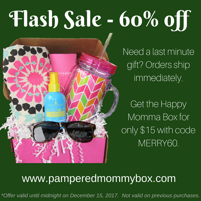 pampered mommy flash sale