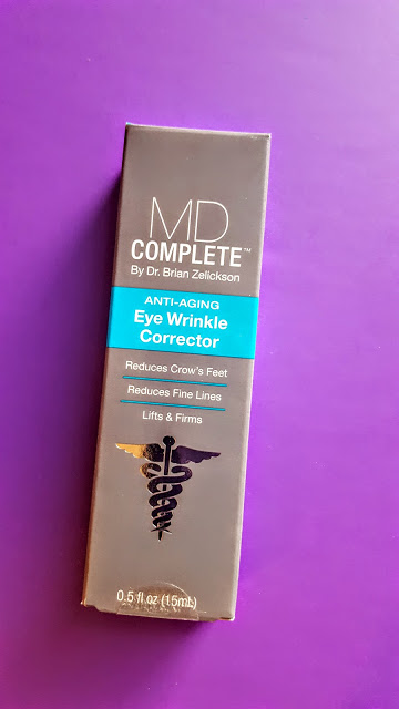 md complete eye wrinkle corrector review