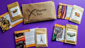 what's in the january piquant post