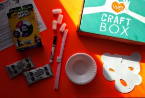 what's in the we craft box