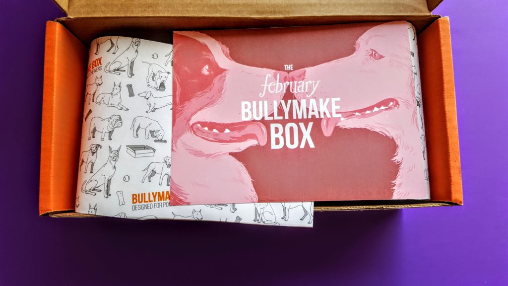 first look in the bullymake box