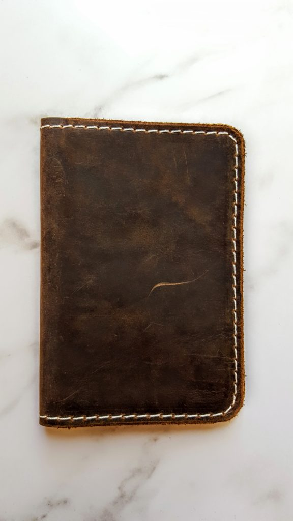 blackthorn leather notebook cover