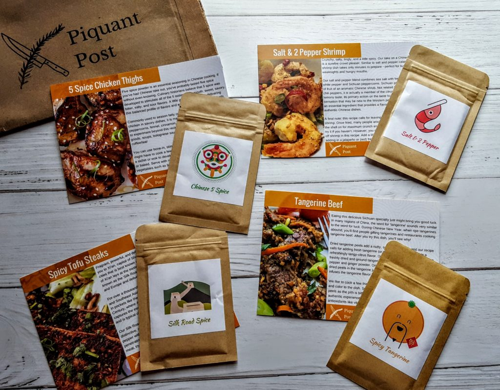 what's in the piquant post package