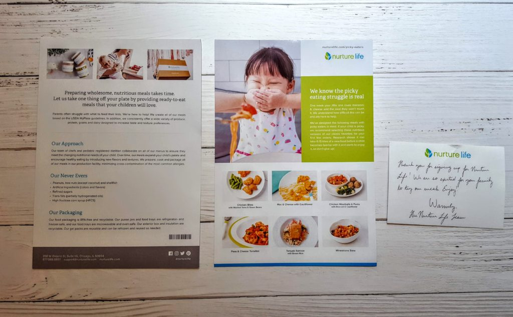 Nurture Life Meal Delivery Subscription Box Review + Unboxing | June