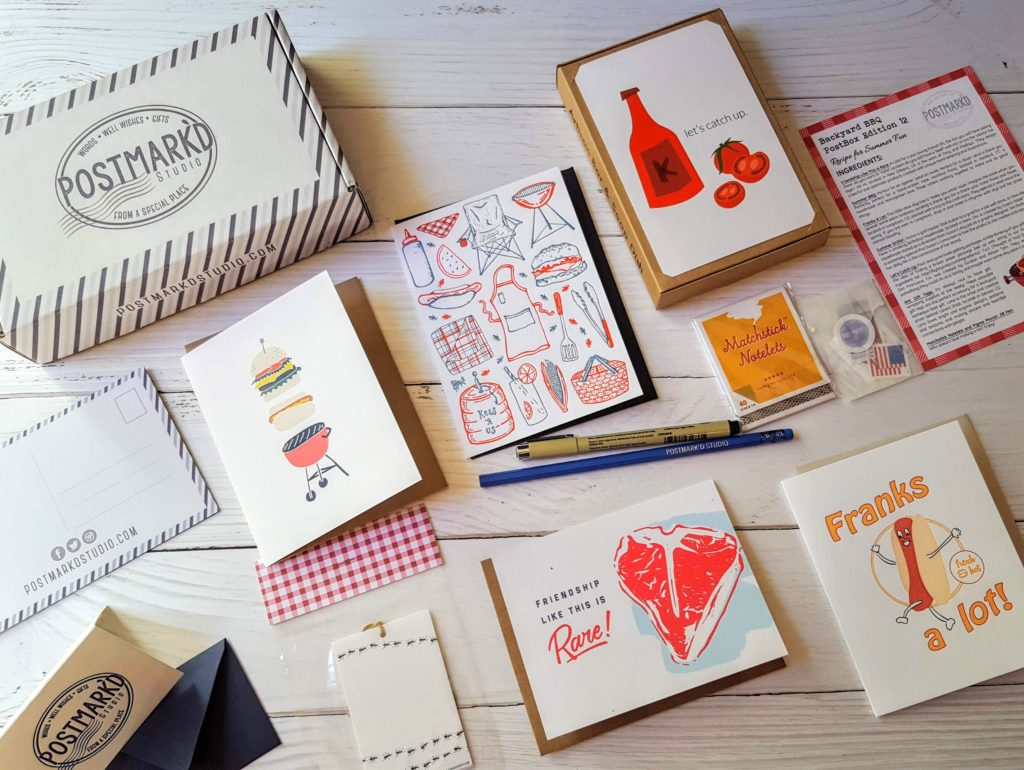 what's in the postmark'd studio box
