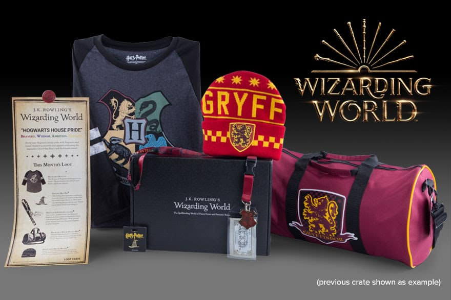 20% off wizarding world crate