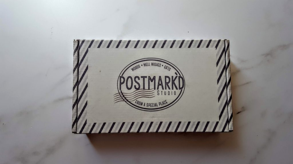 postmark'd studio july box