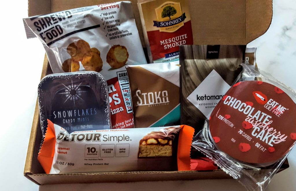 what's in the sleek treat box