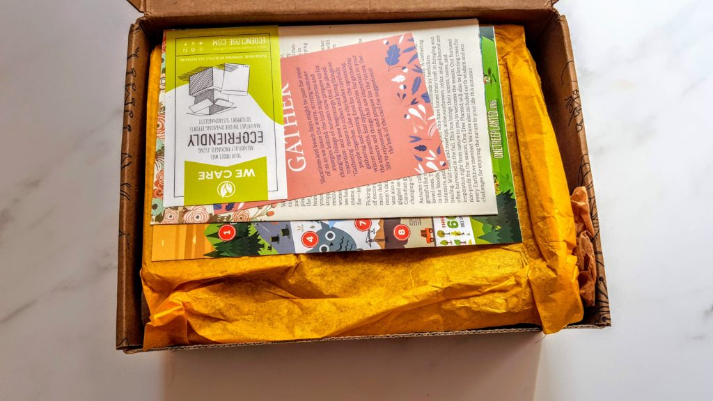 first look in earthlove box