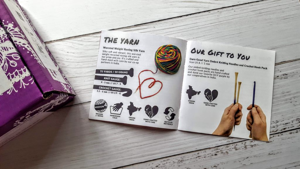 Darn Good Yarn Subscription Box Review + Unboxing + Coupon