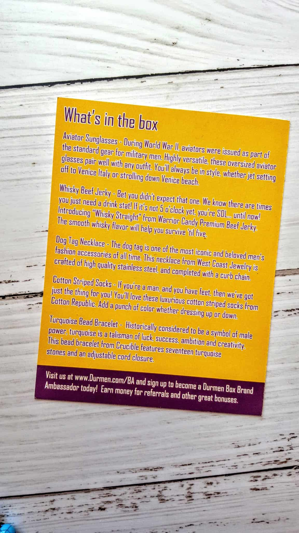 Durmen Subscription Box Review + Unboxing | Inaugurator Box