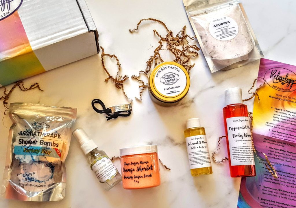 what's in the relaxology box