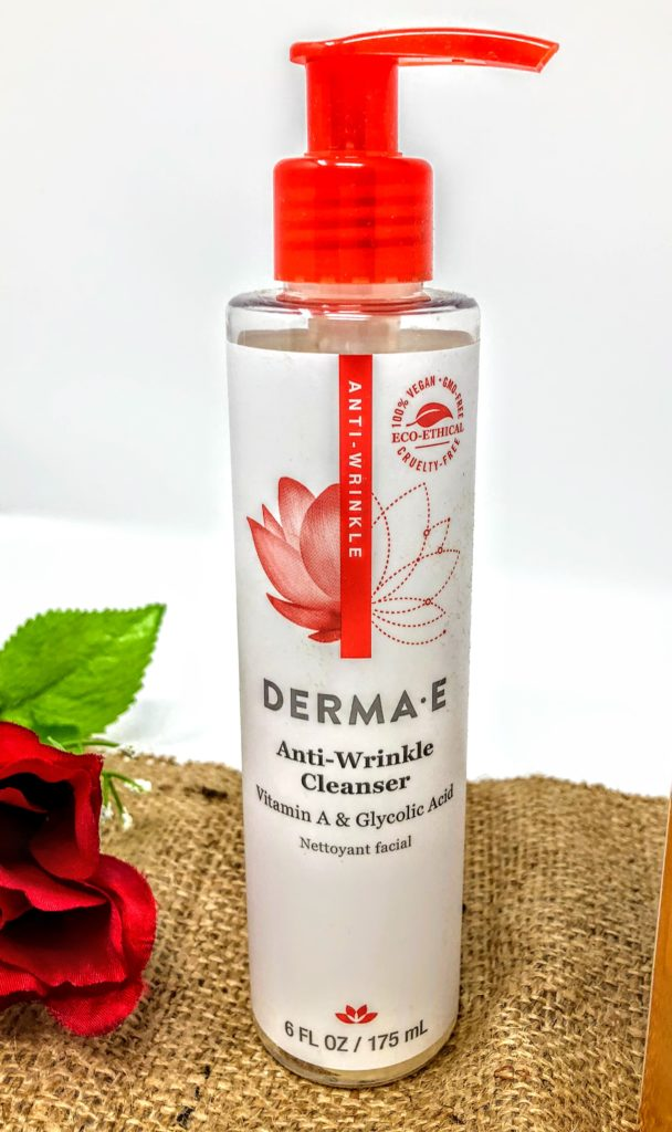 derma e anti wrinkle cleanser review