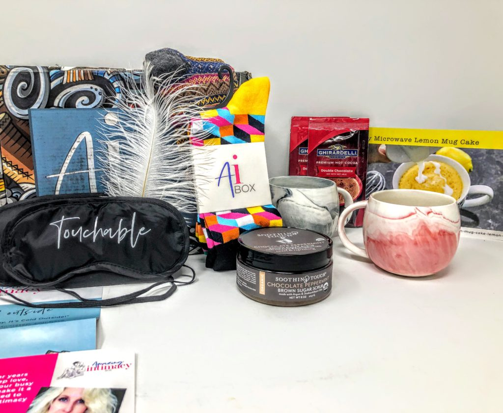 what's in the amazing intimacy box