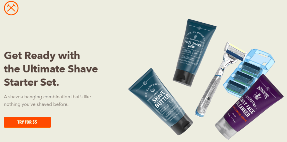 dollar shave club starter pack