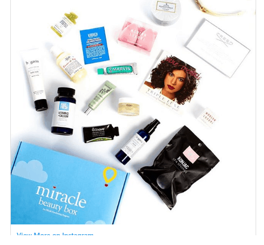 miracle beauty box