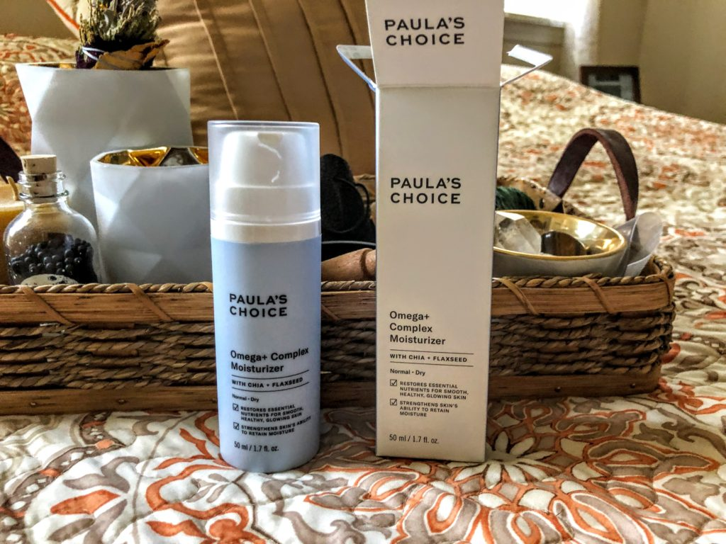 paula's choice omega+ complex moisturizer review