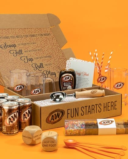 a&w family fun night box