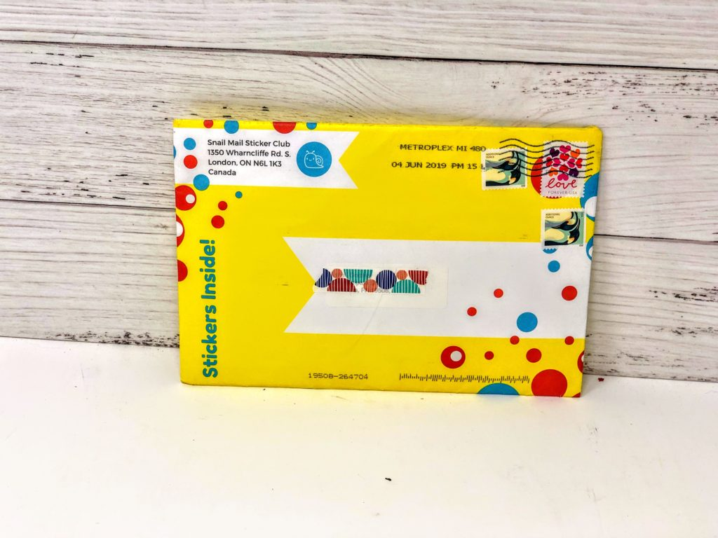 snail mail sticker club review