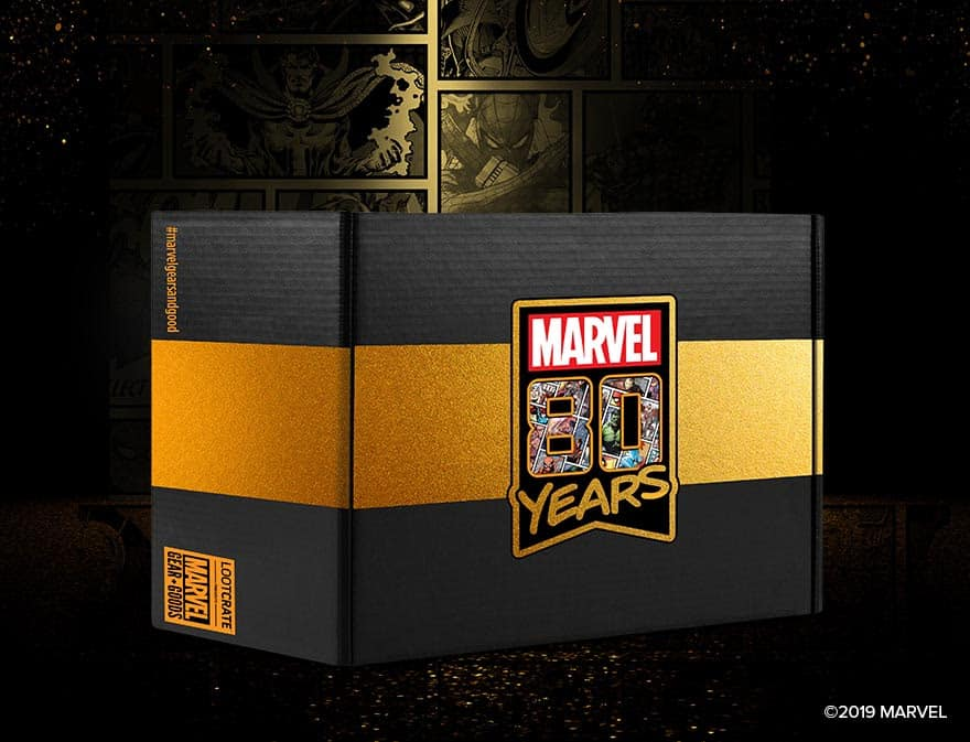 marvel 80th anniversary crate
