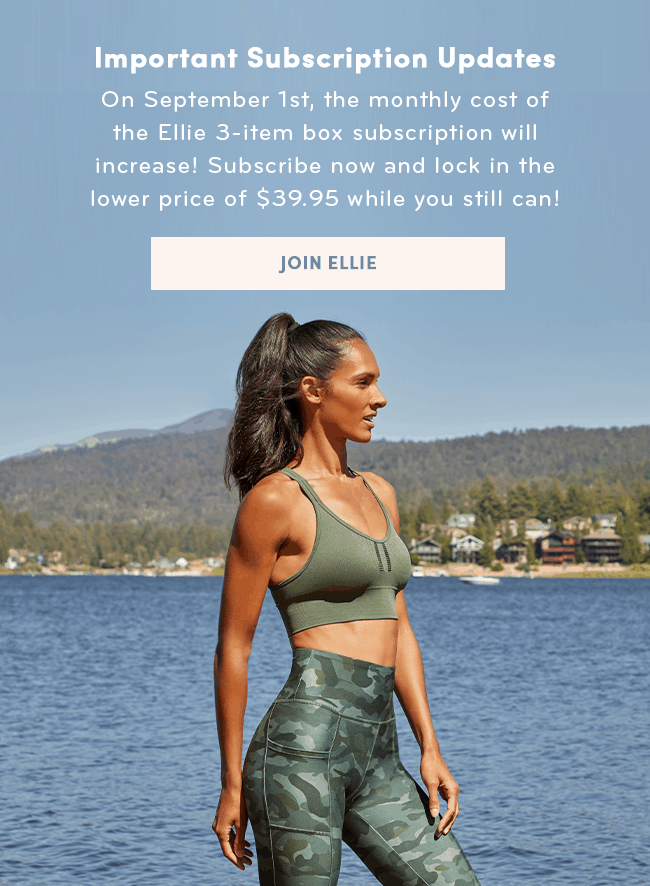 ellie activewear prices