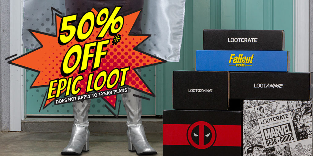 loot crate 50% OFF