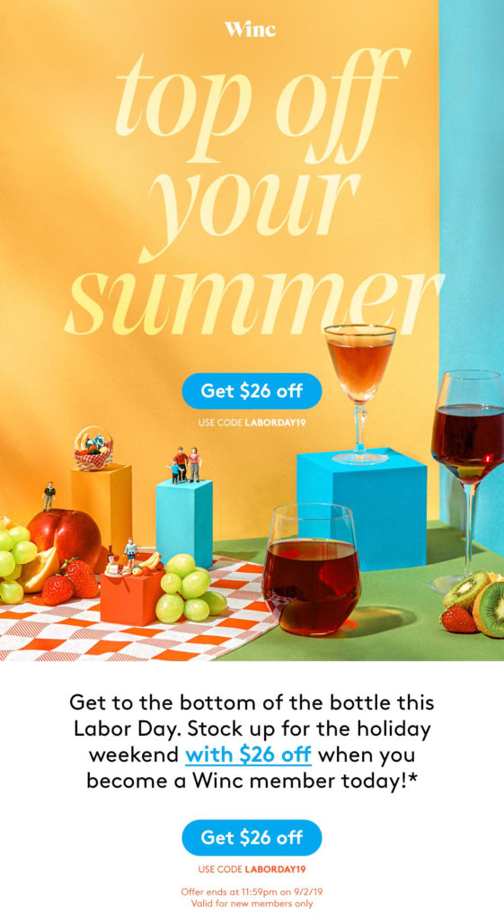 winc coupon code