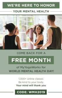 my yogaworks coupon