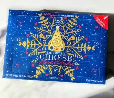 aldi cheese advent calendar 2019