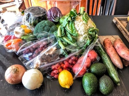 fruit and vegetable subscription box