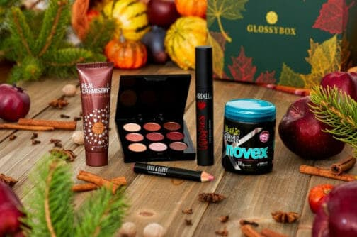 what's in the november glossybox