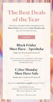 popsugar must have black friday
