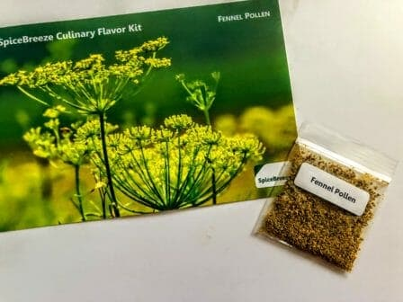 how to use fennel pollen