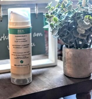 ren clearcalm clay cleanser review