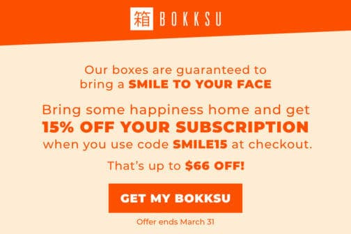 bokksu coupon