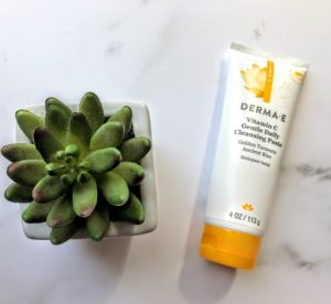 vitamin c gentle daily cleansing paste review