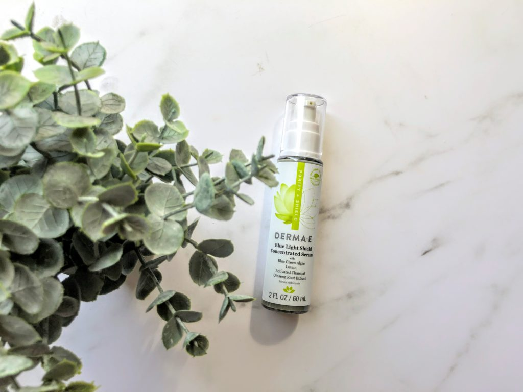 derma e blue light serum review