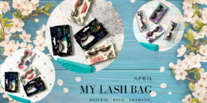 my lash bag april