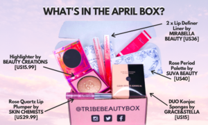 tribe beauty box april