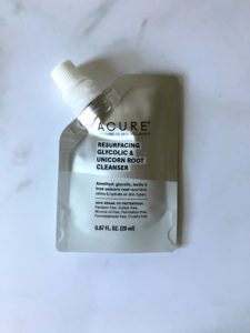 acure glycolic unicorn root cleanser